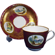Sir James Duke & Nephews Bone China Cup And Saucer 1860-63