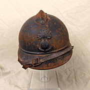 French WW1 Colonial M15 Adrian Helmet
