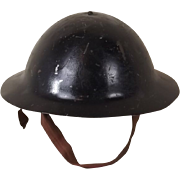 WW1 Raw Edge 1st Pattern Brodie Helmet With RFC Liner