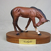 "A Beswick Model of ""Sunlight"", A Spirited Foal by Graham Tongue (1987-1989)"