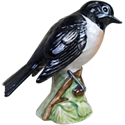 Beswick Pottery Model Of A Small Stonechat Bird