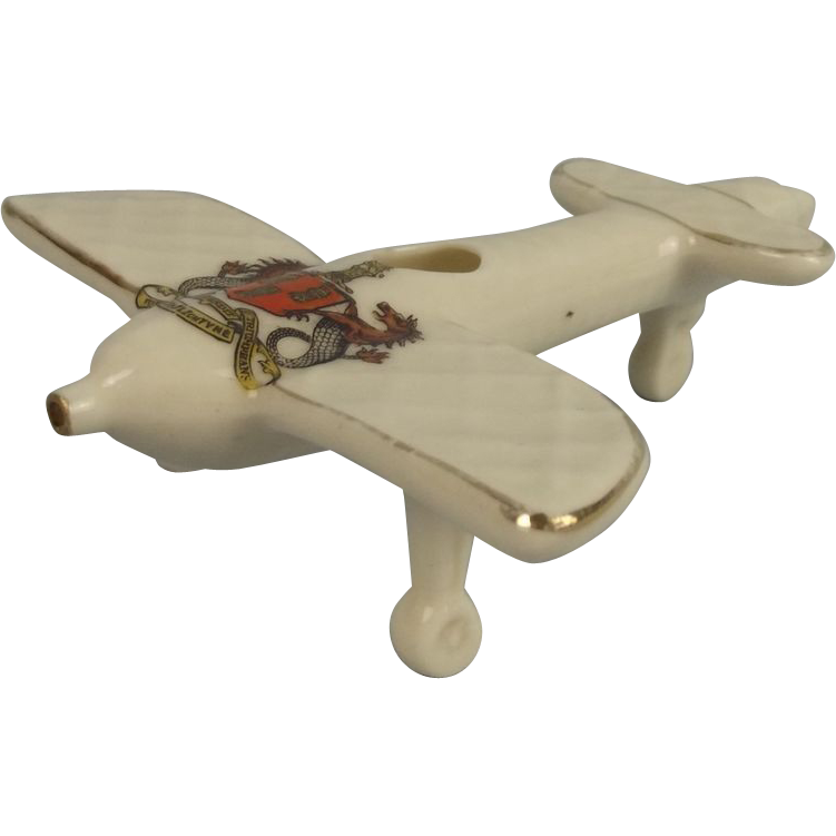 Ww1 carlton crested china monoplane newcastle on tyne for Chinese furniture newcastle