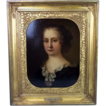 17th Century Oil Painting of &quot;Duchess Of Portsmouth&quot; Attributed To Sir Peter Lely