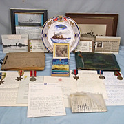 Naval Archive Of H.D.Goodyear HMS Kelly Inc Lord Mountbatten Autographs
