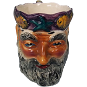 Staffordshire Pearlware Mug Of Father Neptune (Shorter & Sons, Ltd)