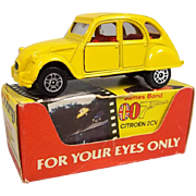 Corgi 56198 - James Bond 007 Citroen 2CV - 'For Your Eyes Only' #2