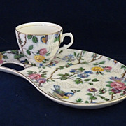 SALE Royal Staffordshire Clarice Cliff Breakfast Set Lorna Doone Pattern