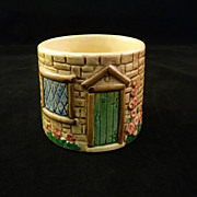 SALE Staffordshire Cottage Ware Sugar