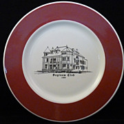 SALE Saginaw Club Syracuse China Dinner Plates