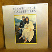 Vintage Close To You Carpenters Record Album Vinyl LP Factory Sealed