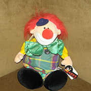 SALE Vintage Plush Chappy the Clown The Heritage Collection by Ganz Bros Nici Designs