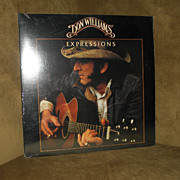 Vintage Don Williams Expressions Record Album Vinyl LP Factory Sealed