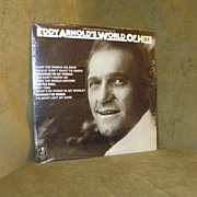 Vintage Eddy Arnold's World Of Hits 2 Record Set LP Album Vinyl Factory Sealed