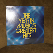 Vintage The Year In Music's Greatest Hits Country Edition The Realistics 1979  Record Album ..