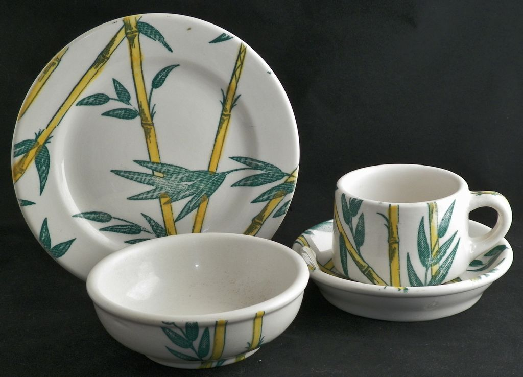 Tepco China Bamboo 23 Piece Restaurant Set