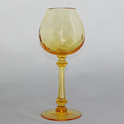 SALE Tiffin Selections Golden Banana Glass Ivy Ball