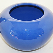 SALE Bauer Hi Fire Cobalt Fred Johnson Hand Thrown Bowl