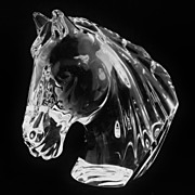 SALE Waterford Irish Crystal Horse Head
