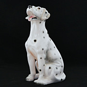 SALE Cal-Style California Pottery Dalmatian Dog Figure