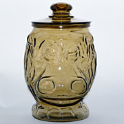 SALE 1970s Libby Hippopotamus Cookie Jar
