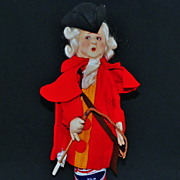 SALE Period Lenci Italy Costume Colonial Man Puppet Doll