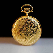 Antique Ladies Waltham 14k Pendant Pocket Watch
