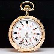 Antique Zevar Pocket Watch