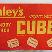 Vintage Staley's Laundry Starch Box
