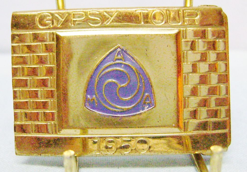 Gypsy Tour Belt Buckle About