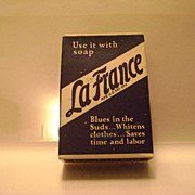 Vintage La France Laundry Bluing Sample Pack