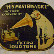 Vintage His Masters Voice Needle Tin