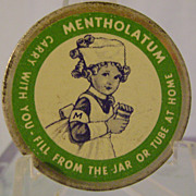 Vintage Mentholatum 'Carry It With You' Tin