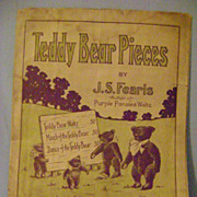 Vintage Teddy Bear Pieces Sheet Music