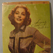 Vintage Loretta Young School Tablet