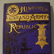 Vintage History Grand Army of the Republic