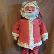 "Antique 26"" Masked Face Santa - Lovely Display Piece!"