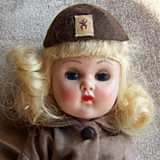 1950's Ginny Doll in Brownie Uniform