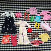 Vintage Barbie Clothing - Lot 3