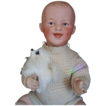 Devilish 13&quot; Laughing Gebruder Heubach Baby Doll