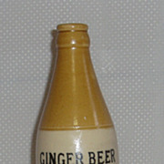 Crieff Aerated Water Co Ltd ginger beer bottle