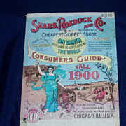 Sears Roebuck Co. 1970 minature 1970 reprint