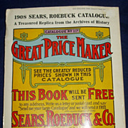 1908 Sears roebuck catalogue reprint