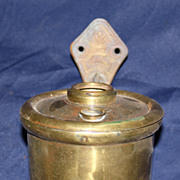 Miller railway wall mount oil lamp