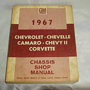 GM 1967 chassis shop manual