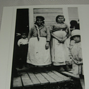 Inuit photo of eskimo women by Alexander Chesterfield