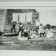 Photo of Cree women by Alexander Chesterfield