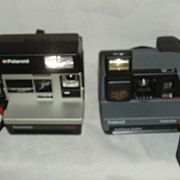 Polaroid Impulse and polaroid sun 600 cameras