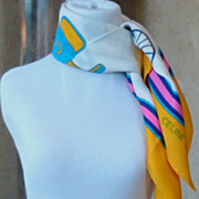 Celine Silk Scarf Made in Italy