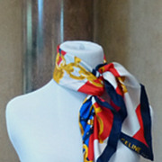 Beautiful Vintage Celine Silk Scarf
