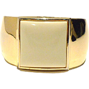 1980s Contemporary Geometric  AVON Cuff